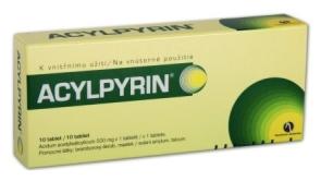 K čemu je dobrý acylpyrin